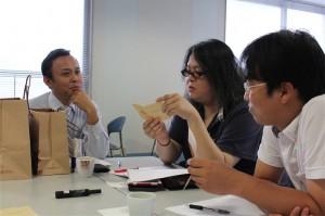 浅田社長が参加者の質問に直接答えています