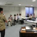 各チームのプレゼン毎に浅田社長、浅野先生からのコメントをいただきました